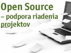 Open source - podpora riadenia projektov